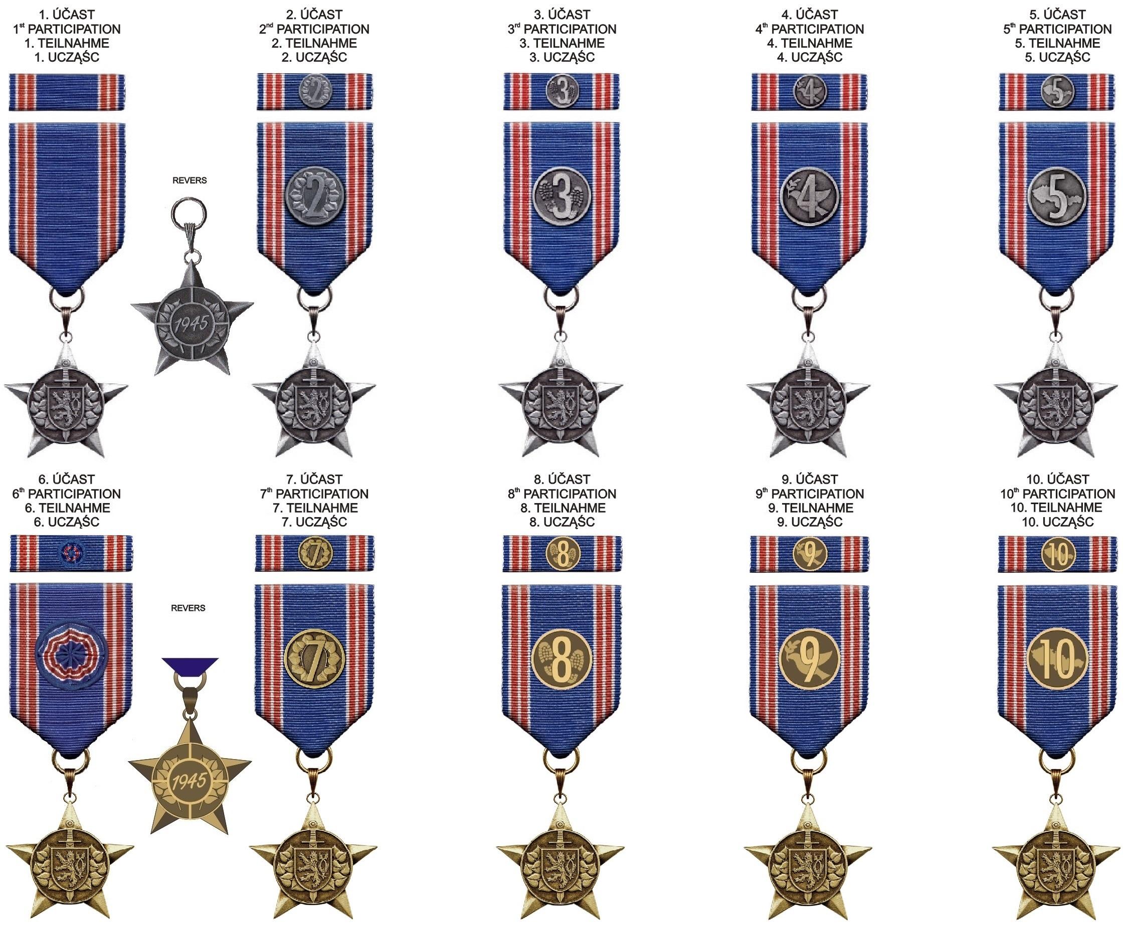 VOJCHOD medaile