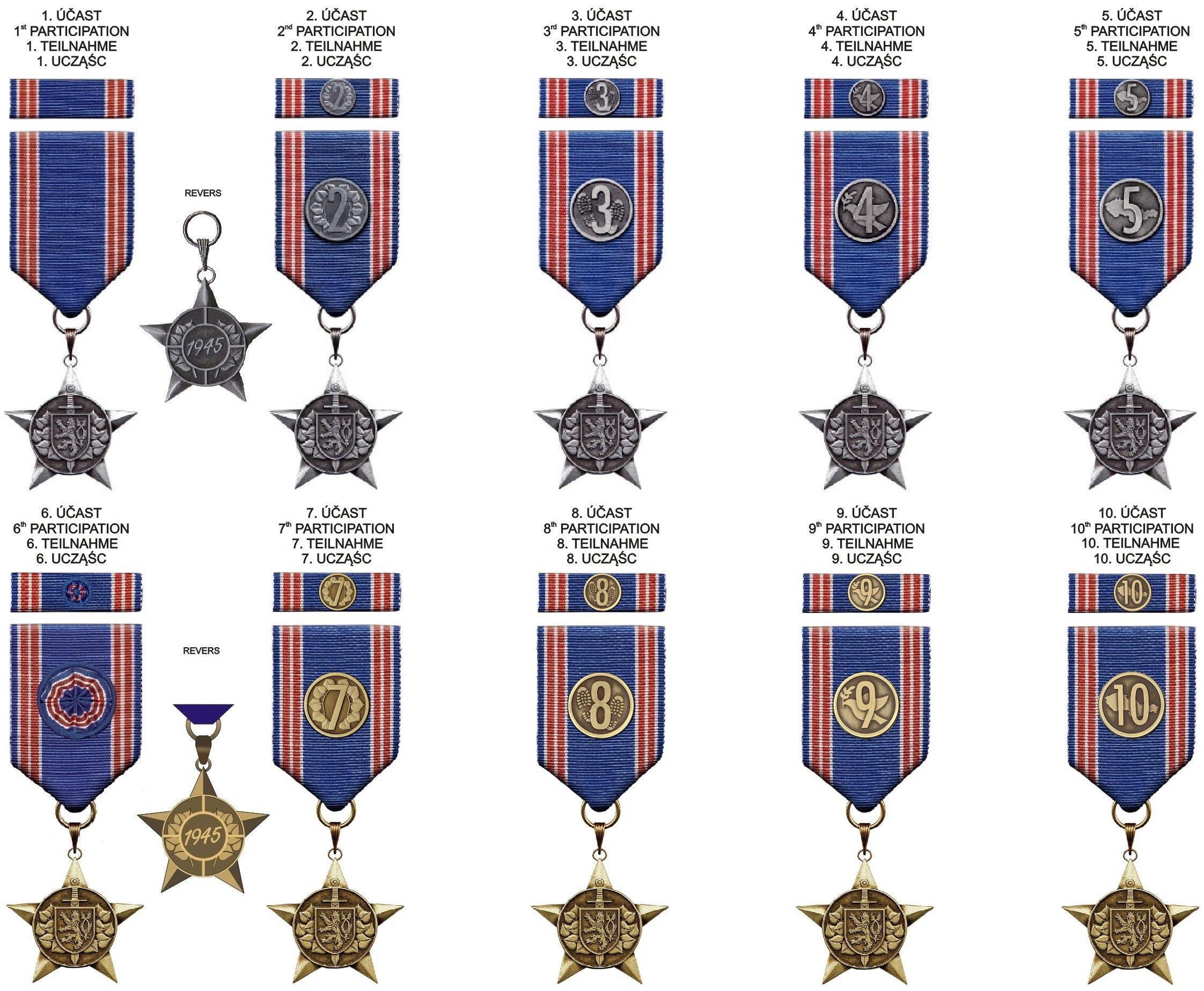 Medaile VOJCHOD MILARCH ®