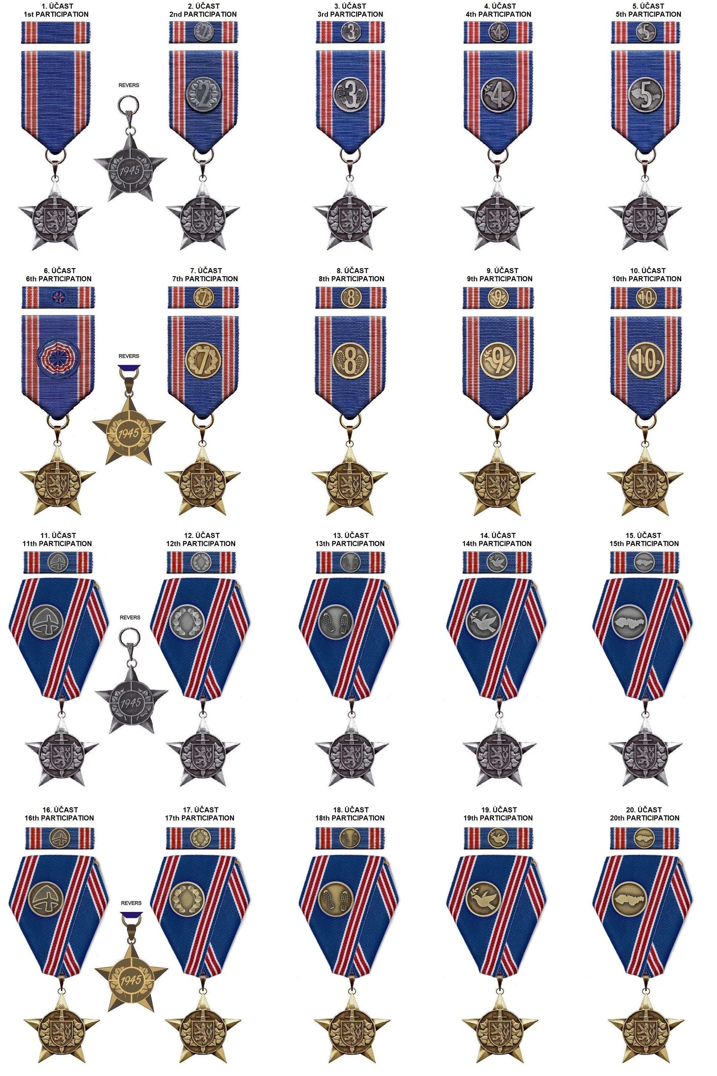 Medals VOJCHOD MILARCH ®